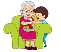 Families clipart grandma. Free grandmother cliparts download