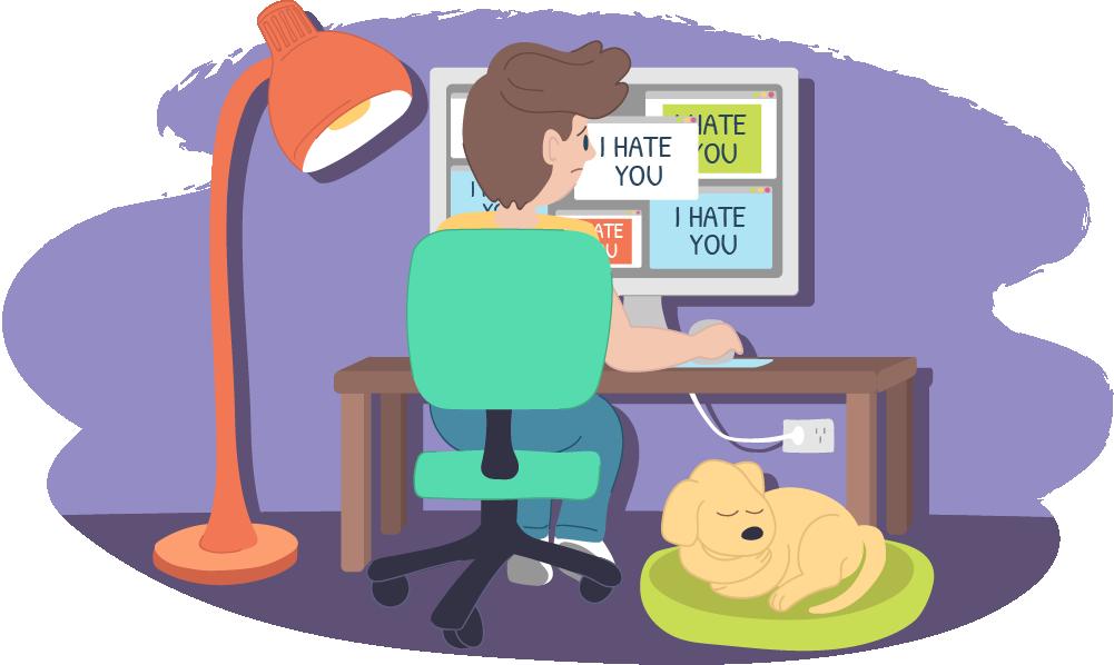 Online harassment kids helpline. Honesty clipart cyberbullying