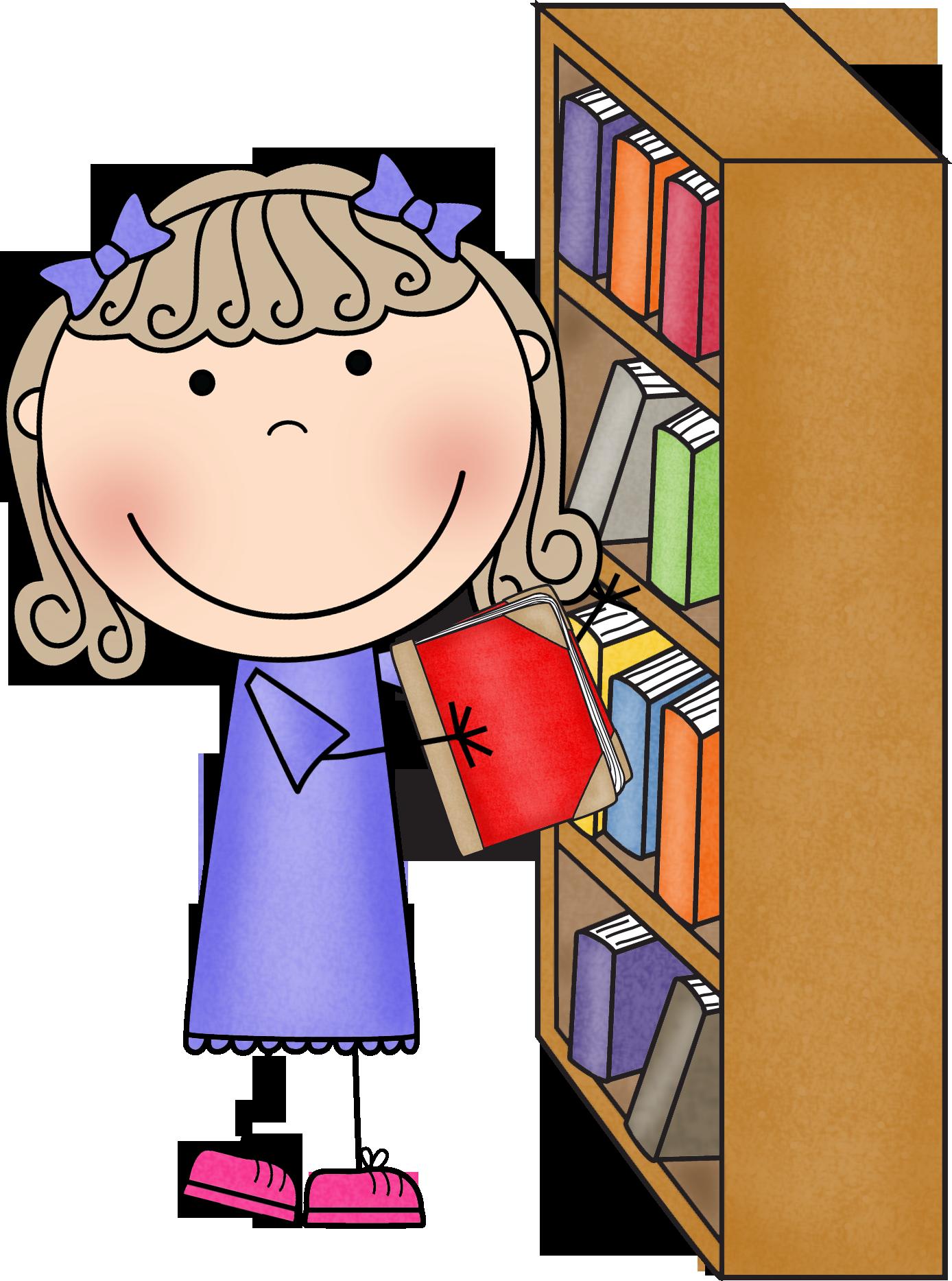clipart teacher library