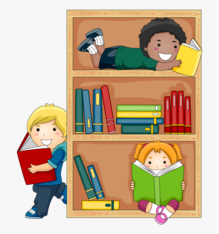 Textbook clipart kid book. Student reading public library
