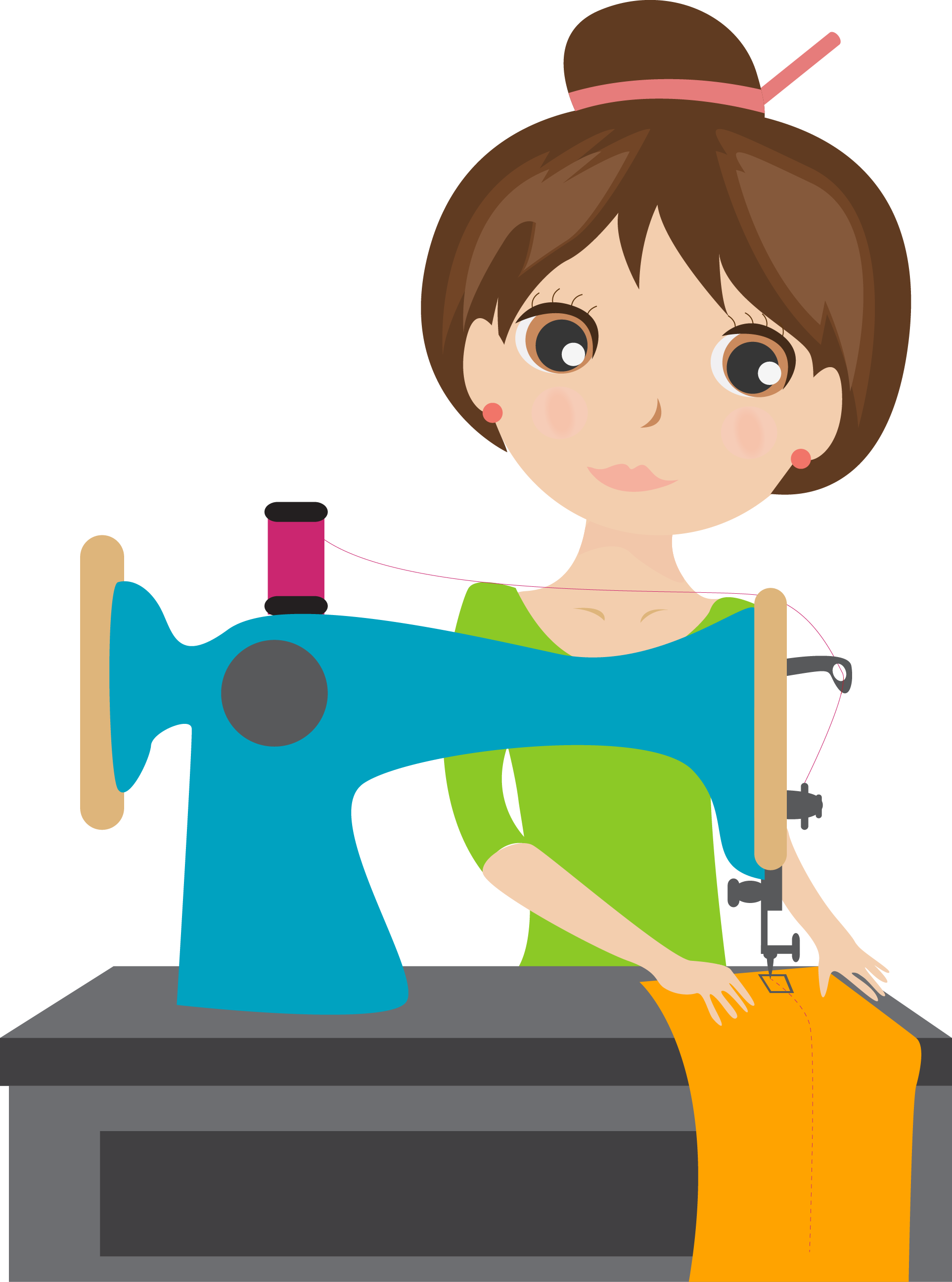 Ingznk dfkqso png sew. Clipart mom sewing