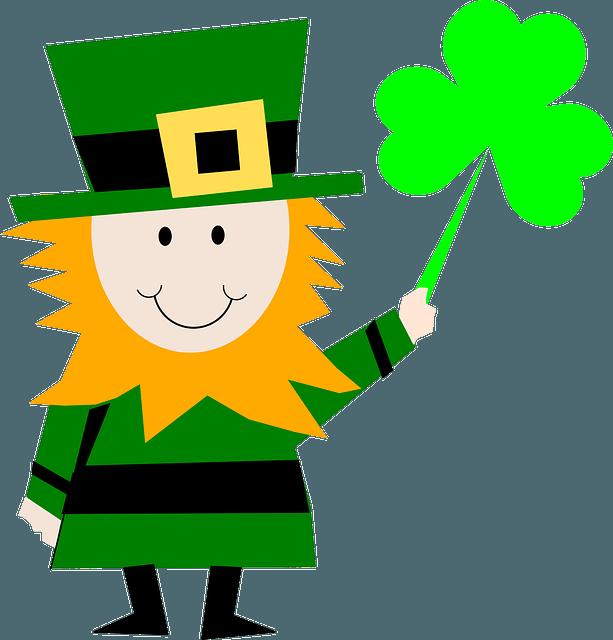 Clipart children st patricks day. Patrick s irish story