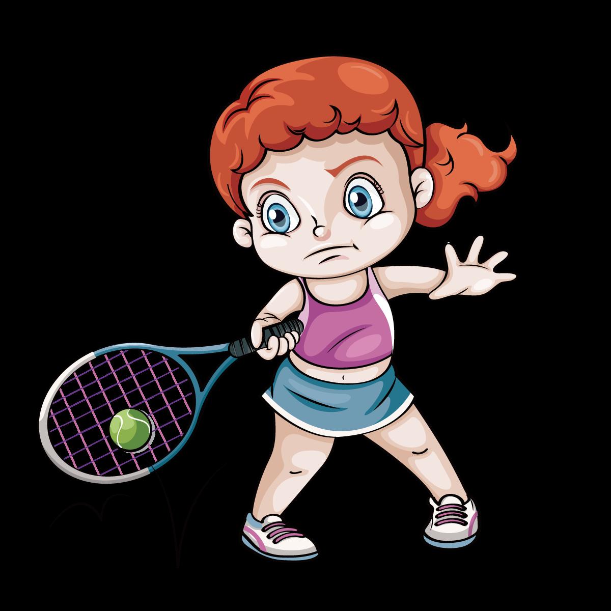 Racket at getdrawings com. Clipart children tennis
