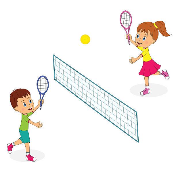 Kids station . Kid clipart tennis