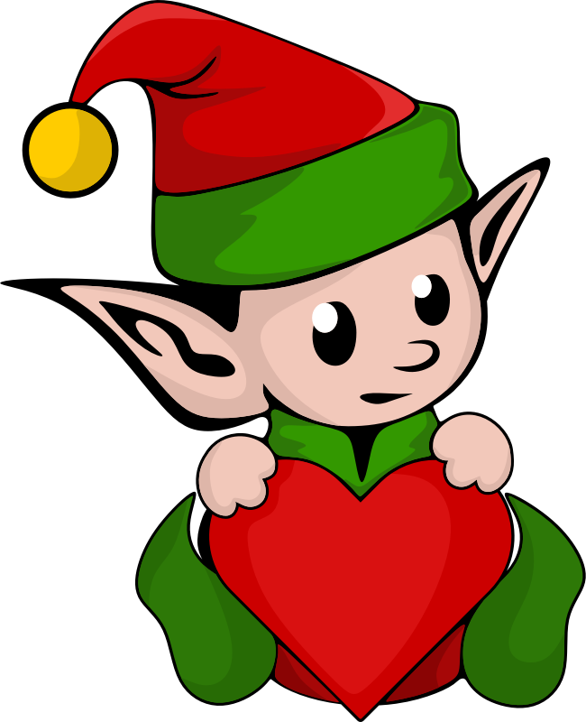 Girl clipart elf. Suggestions for download medium