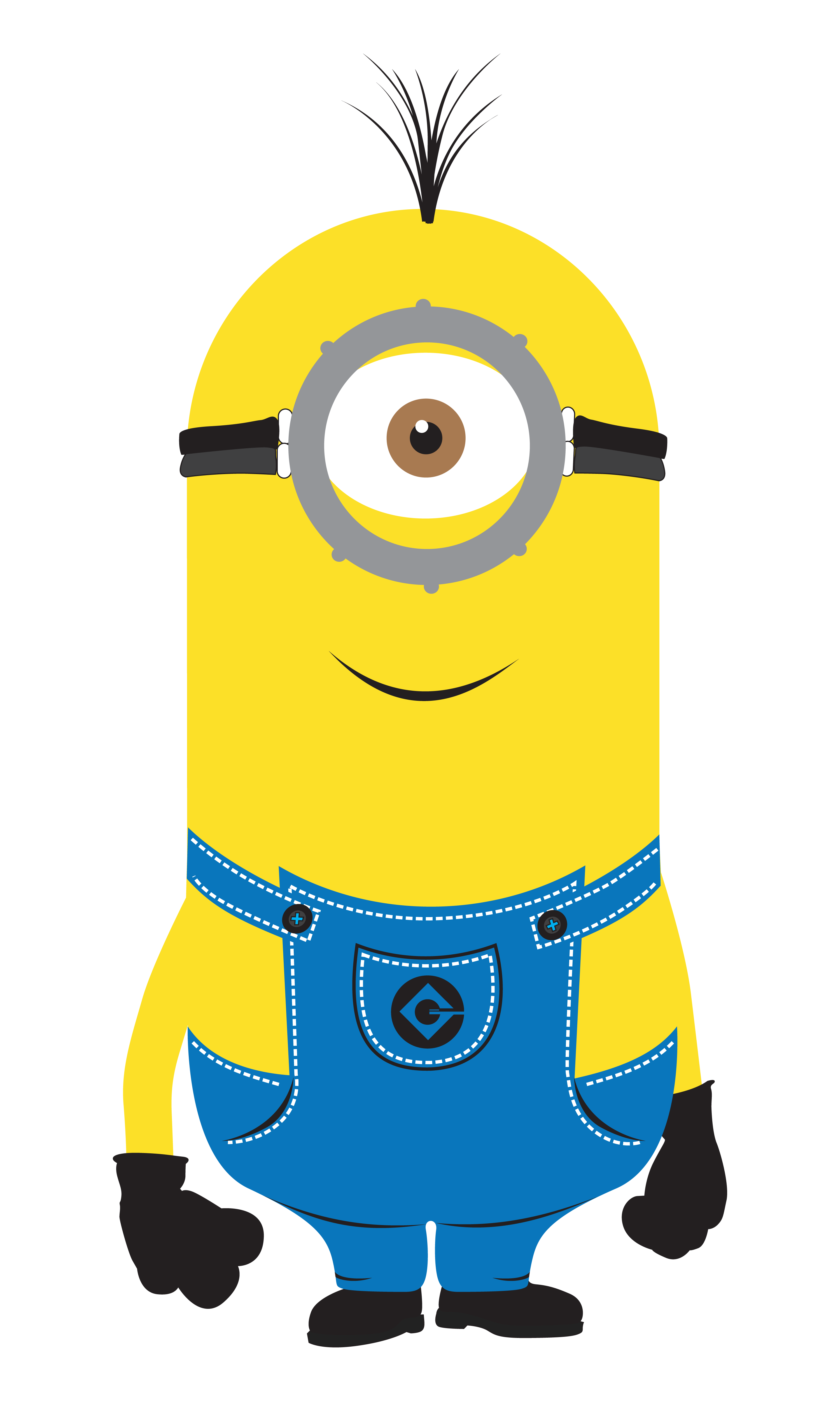 Despicable me minions vector. Wallet clipart animated