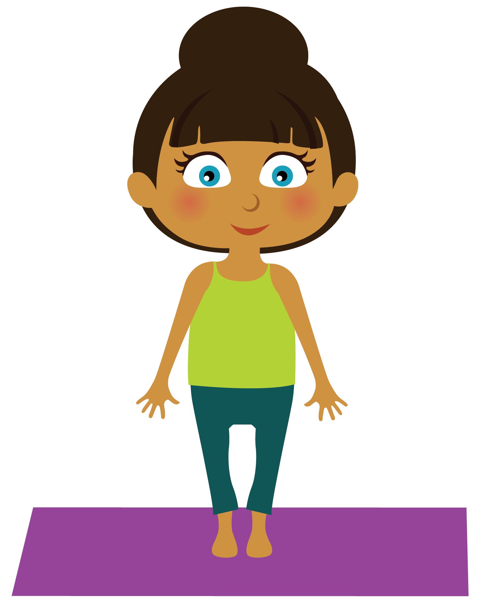 Standing still littlefeet blog. Families clipart yoga