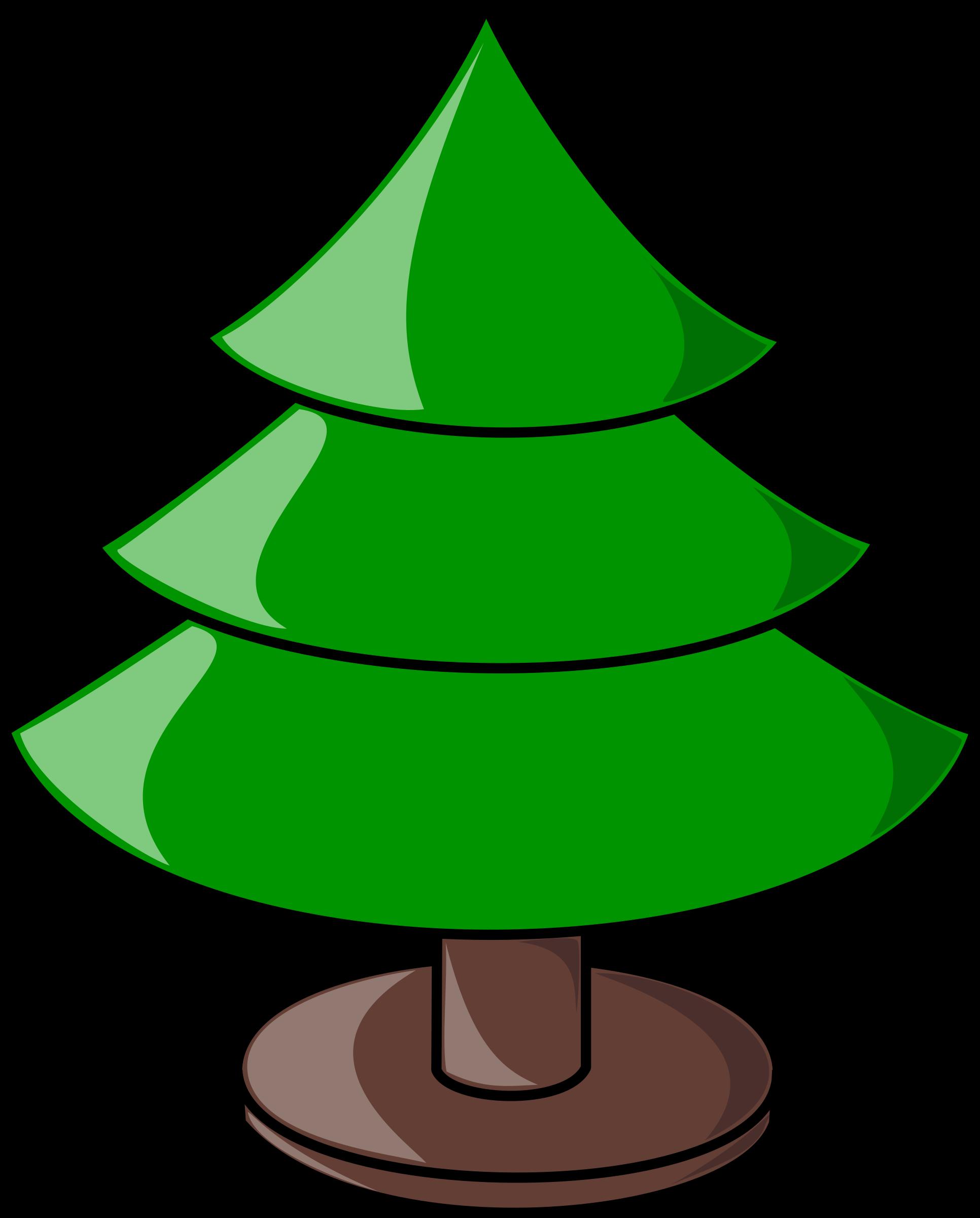 Color clipart tree. Christmas plain big image