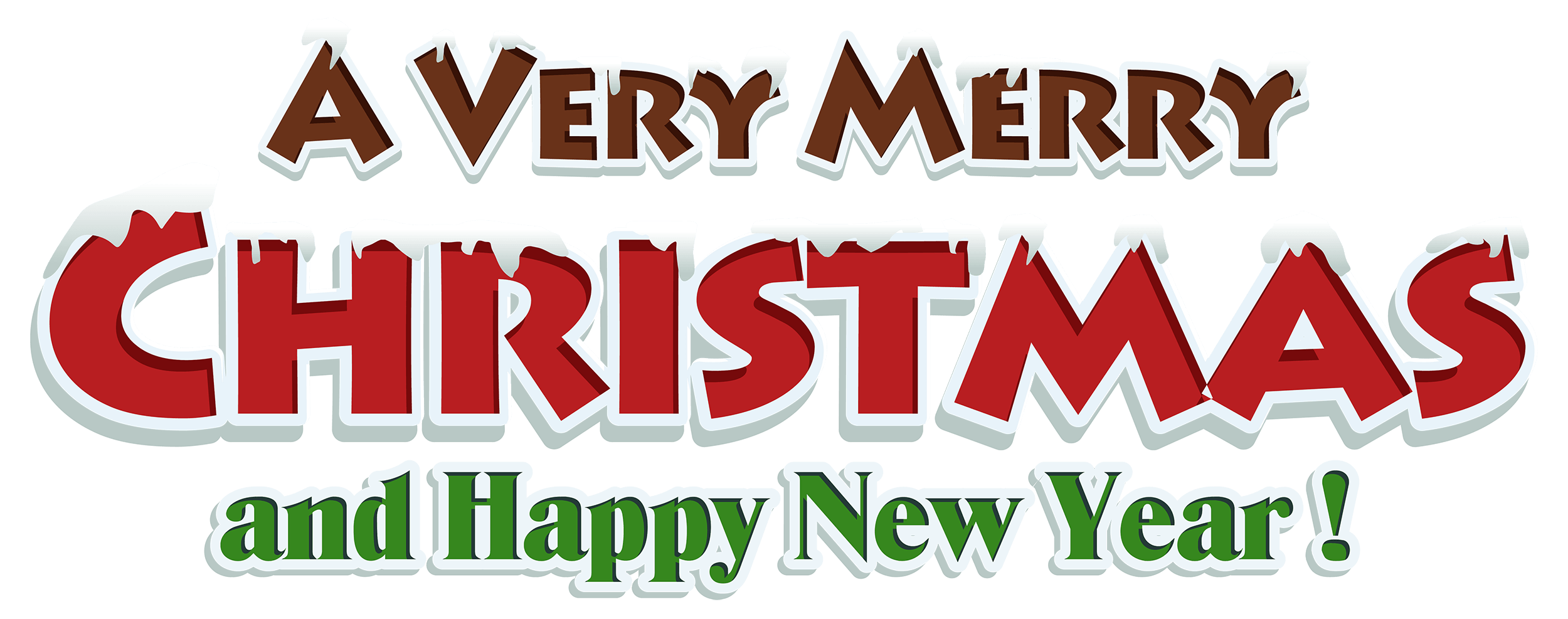 Free clipart merry christmas. Cute images and happy