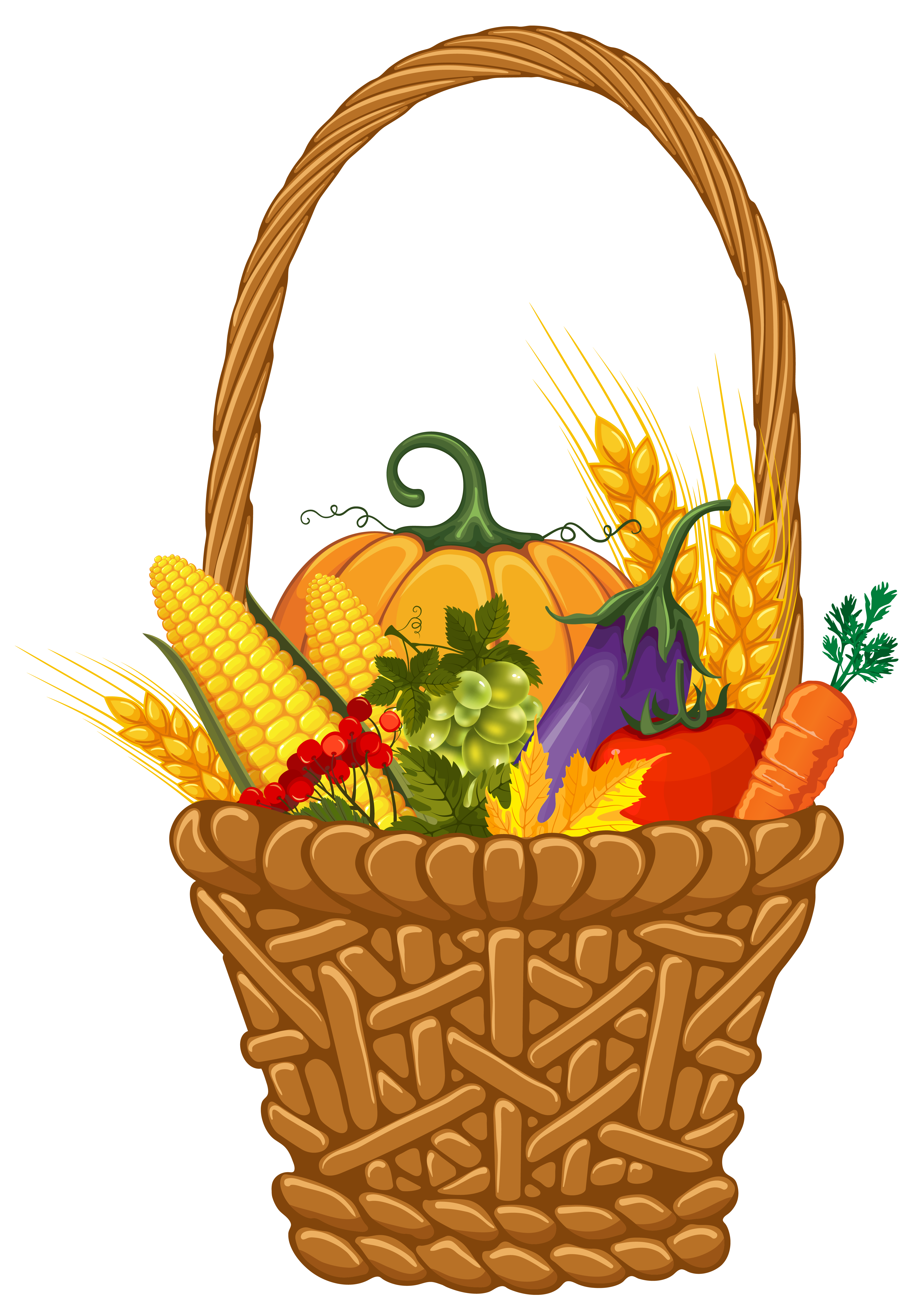 Water clipart basket. Fall harvest png image