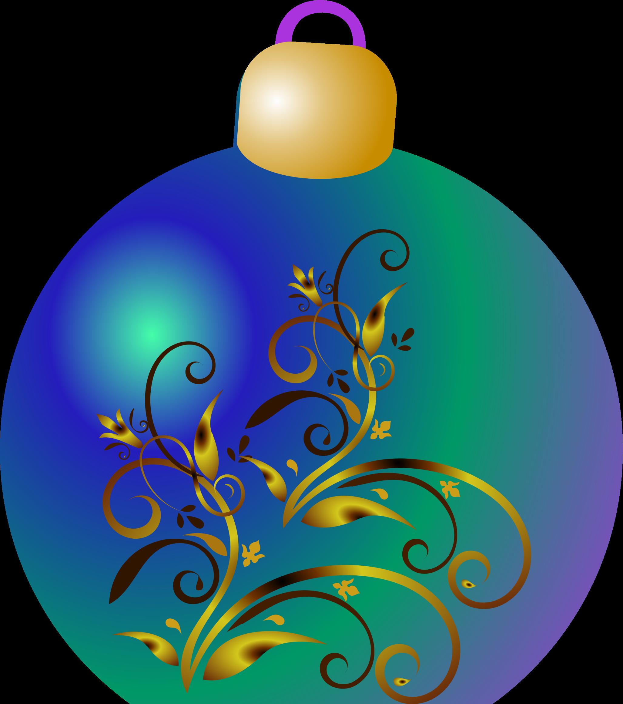 Ornament. Clipart christmas bauble