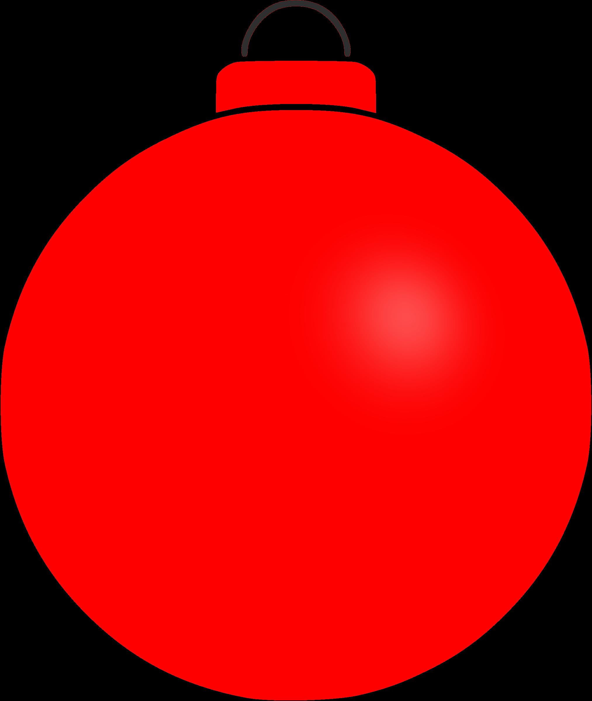 Plain big image png. Clipart christmas bauble