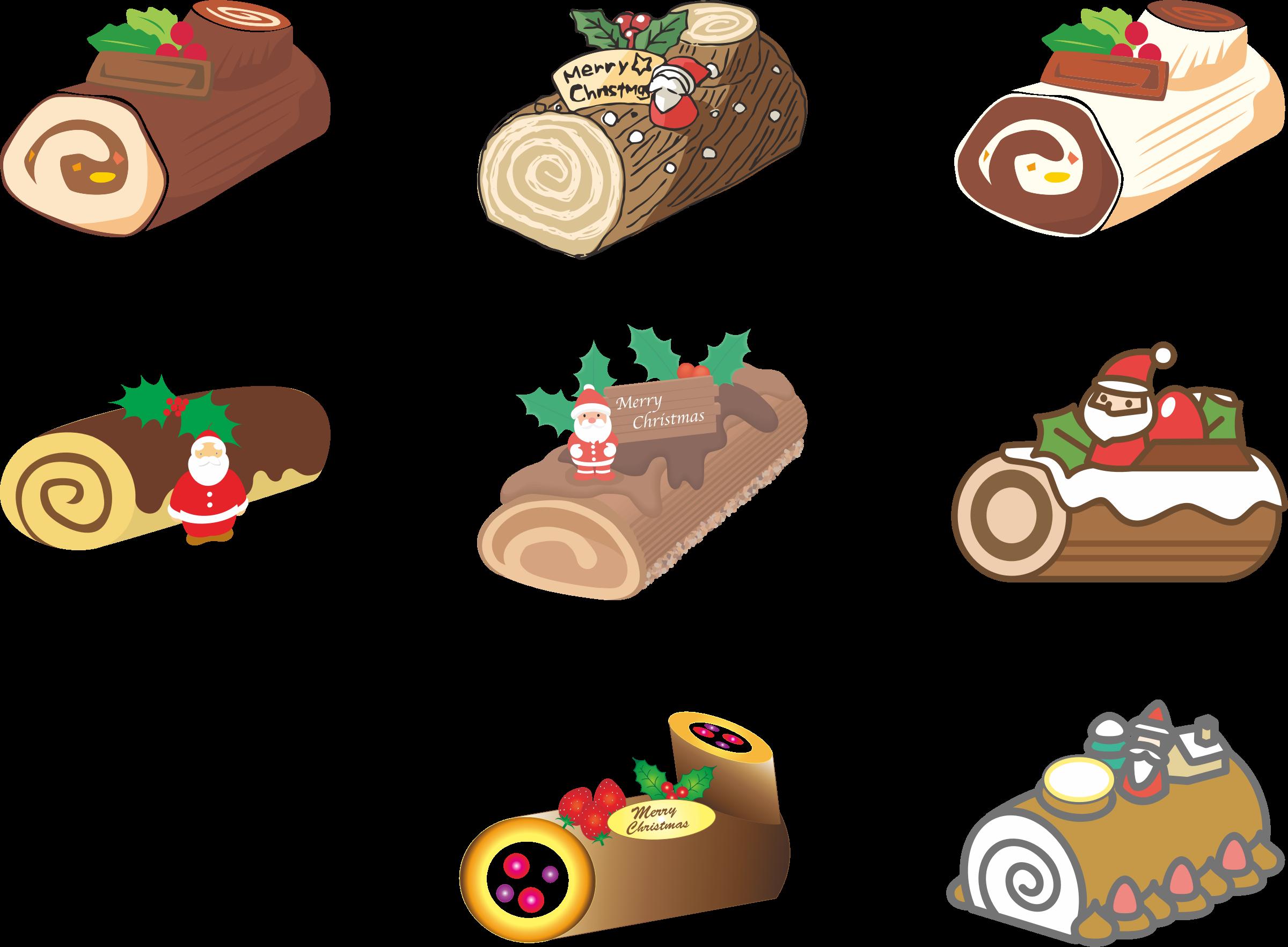 desserts clipart christmas
