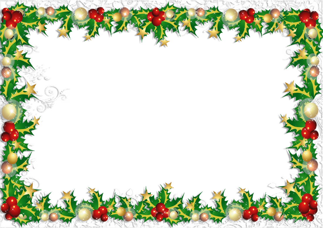 Transparent photo gallery yopriceville. Christmas frame png