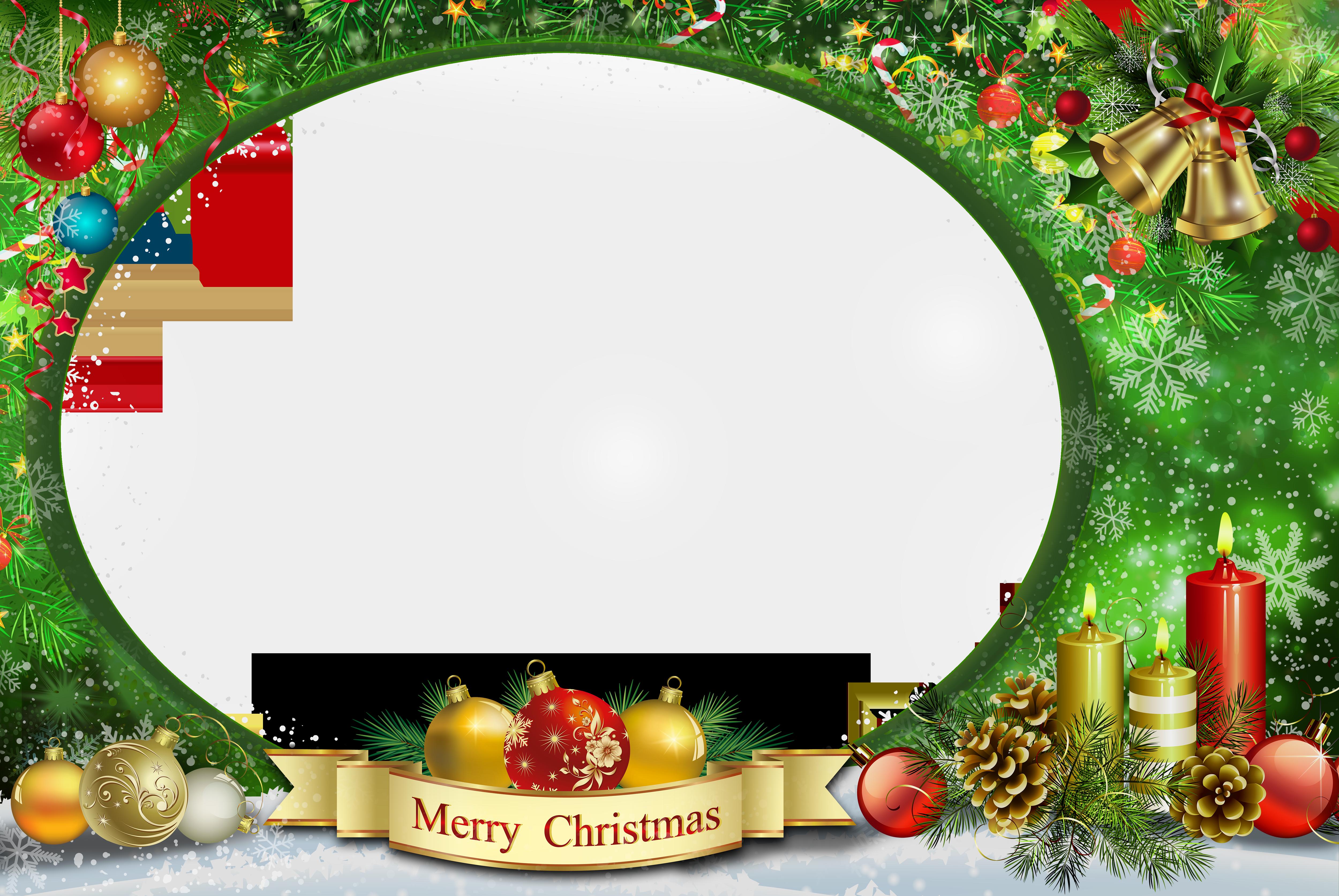 Transparent christmas png image. Clipart gun frame
