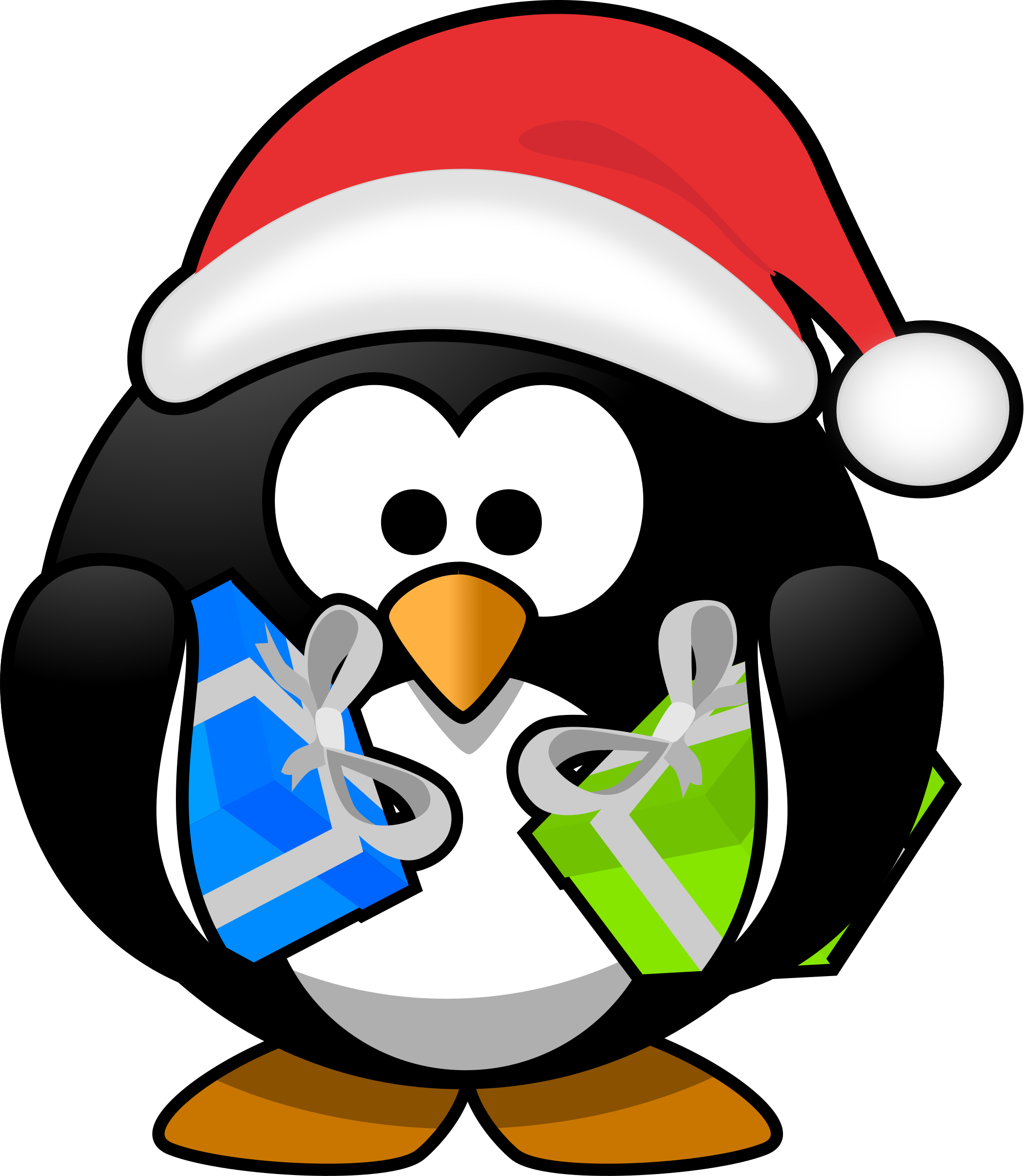 Christmas drawing at getdrawings. Mask clipart penguin