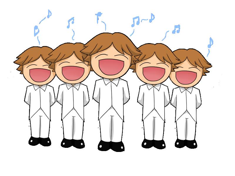 Children singing desktop backgrounds. God clipart kid