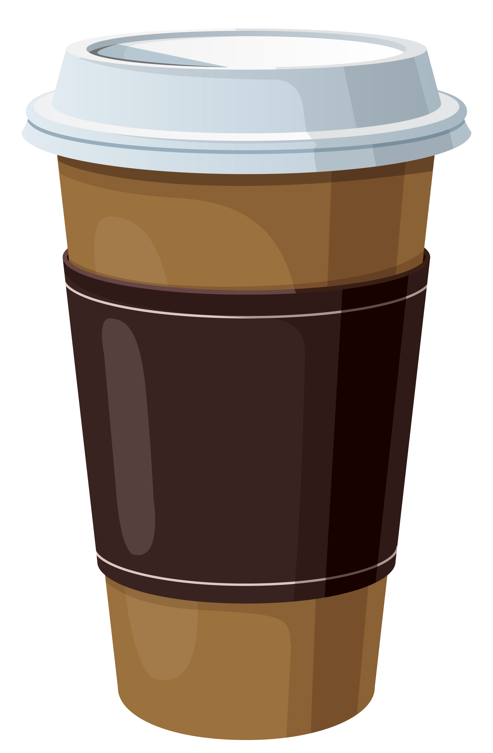 Coffee in plastic cup. Latte clipart tumbler starbucks