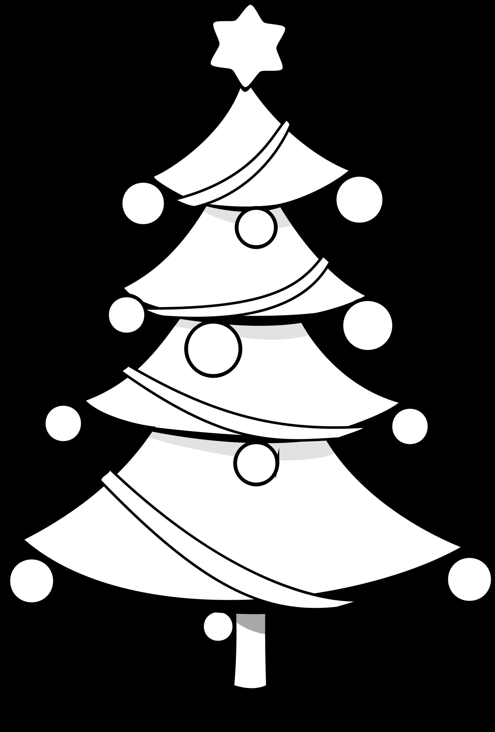 Husky clipart christmas. Tree coloring page big