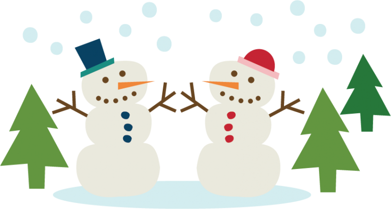 Graphics illustrations free download. Snowman clipart couple