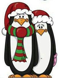 Couple clipart christmas. Penguin disney creations