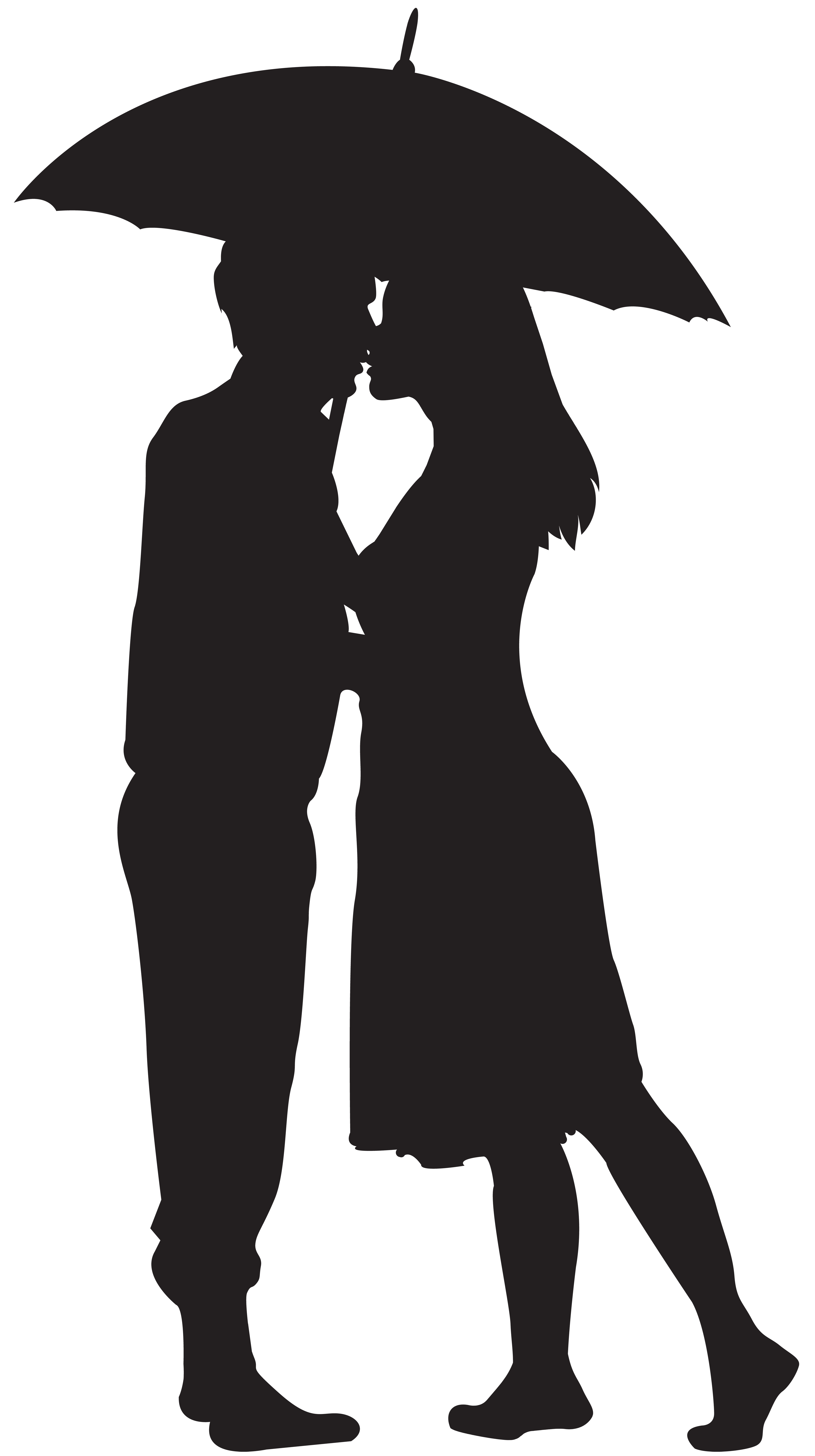 Couple clipart black and white. Loving silhouette png clip