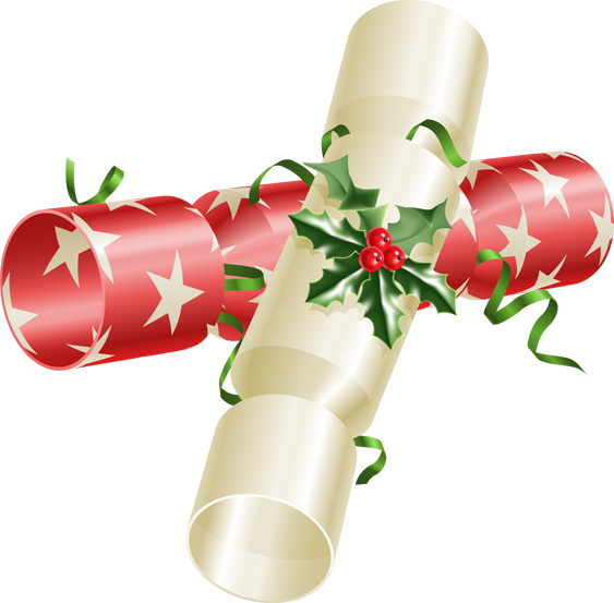 Clipart christmas cracker.  collection of crackers