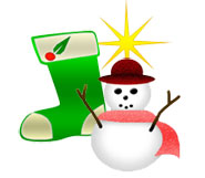 Holly clipart email. Christmas gifts