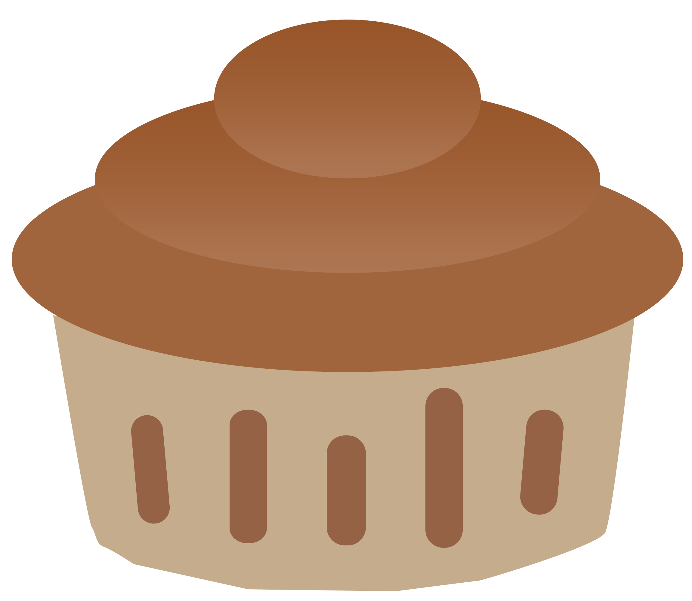 And chocolate graphic. Desserts clipart vanilla cupcake