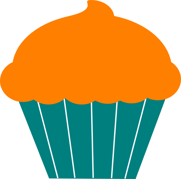 Birthday cupcake at getdrawings. Muffins clipart five