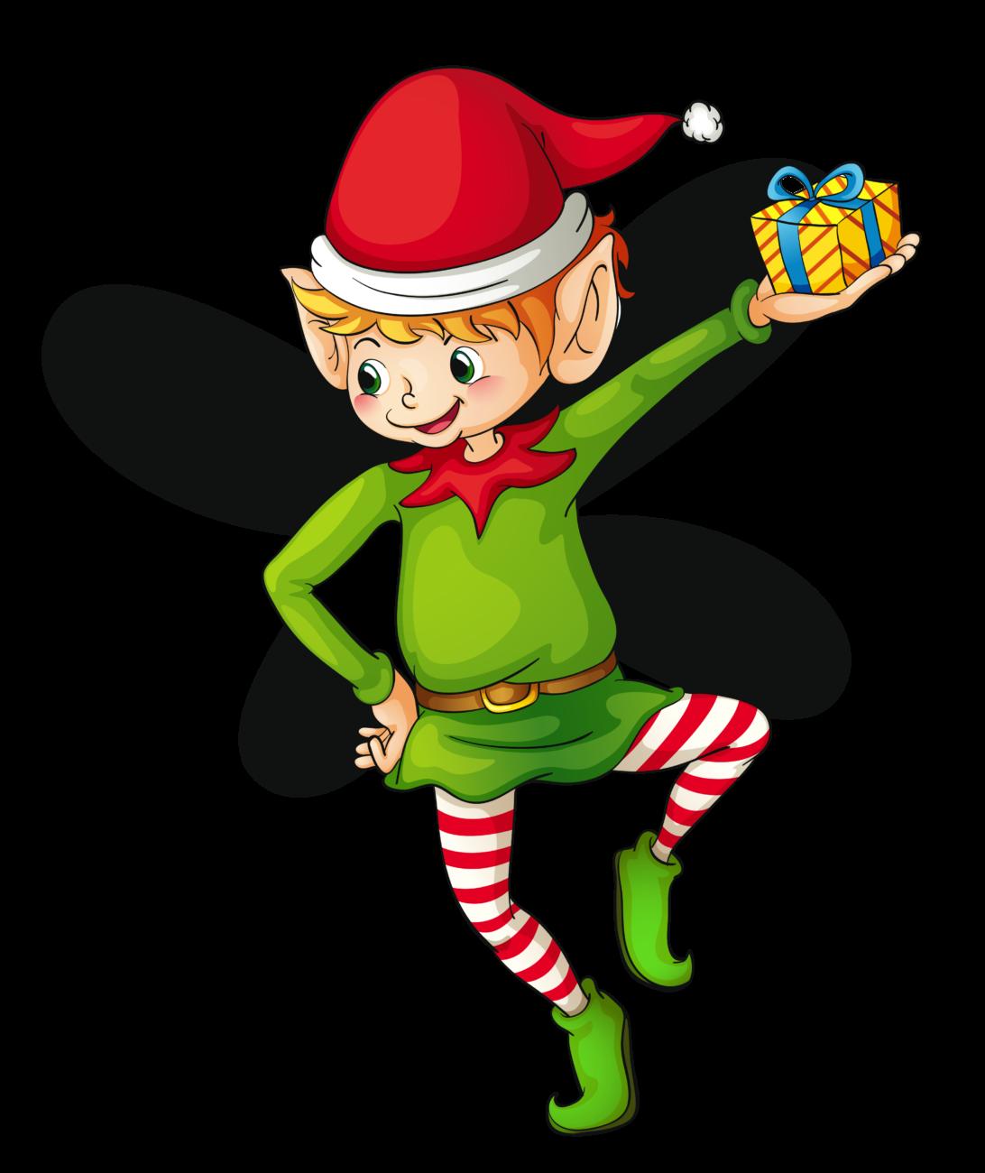Elves clipart spirit. Christmas cute elf mary