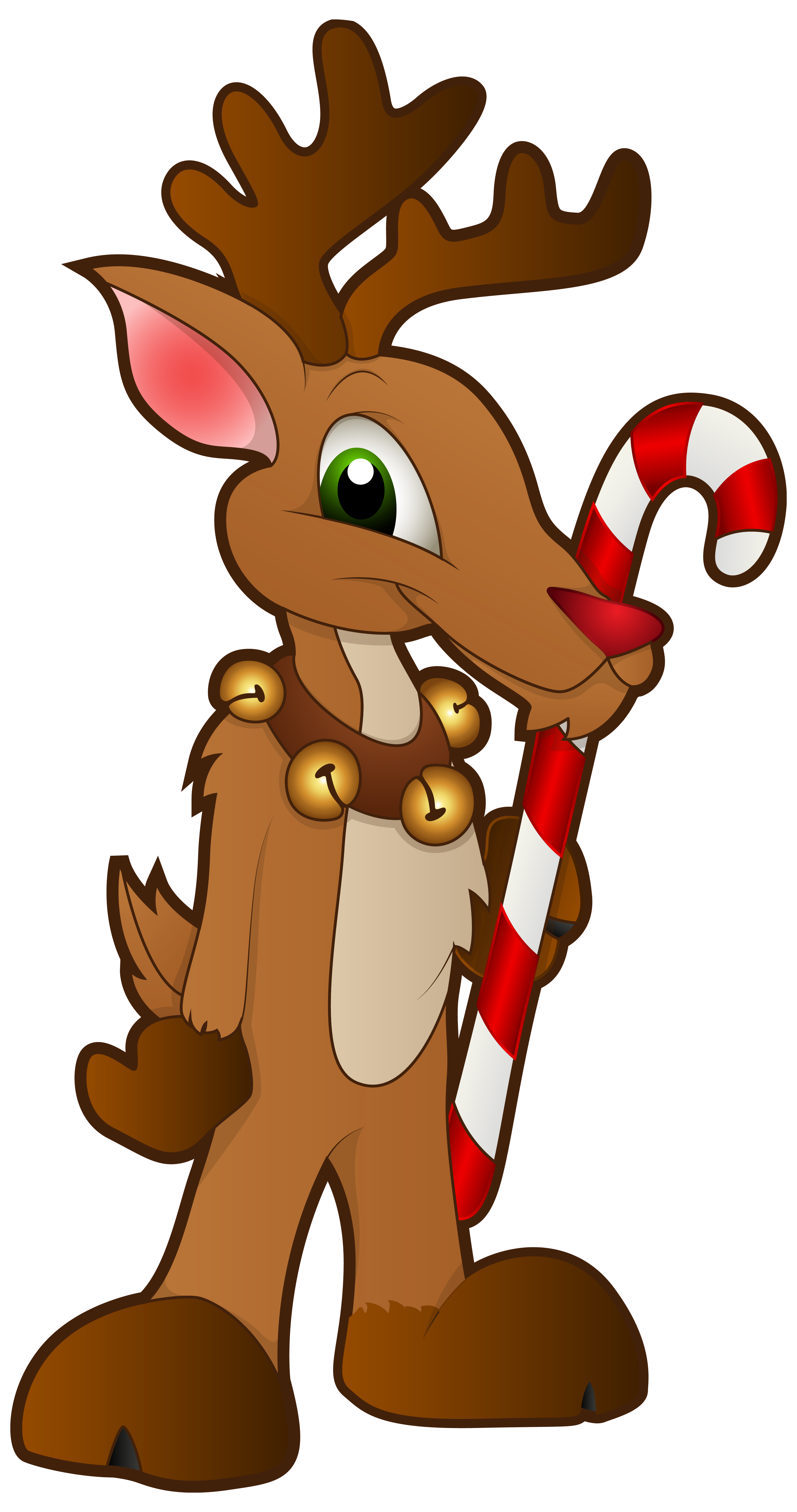 Clipart reindeer holiday. Christmas png clip art