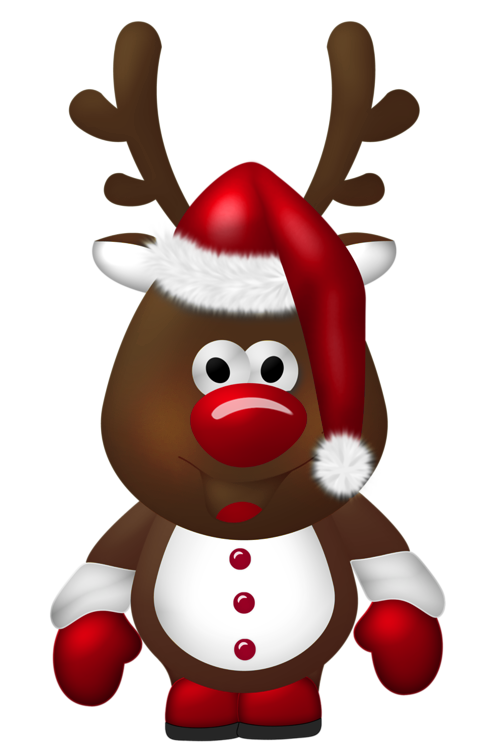Clipart reindeer pretty. Cute christmas transparent png