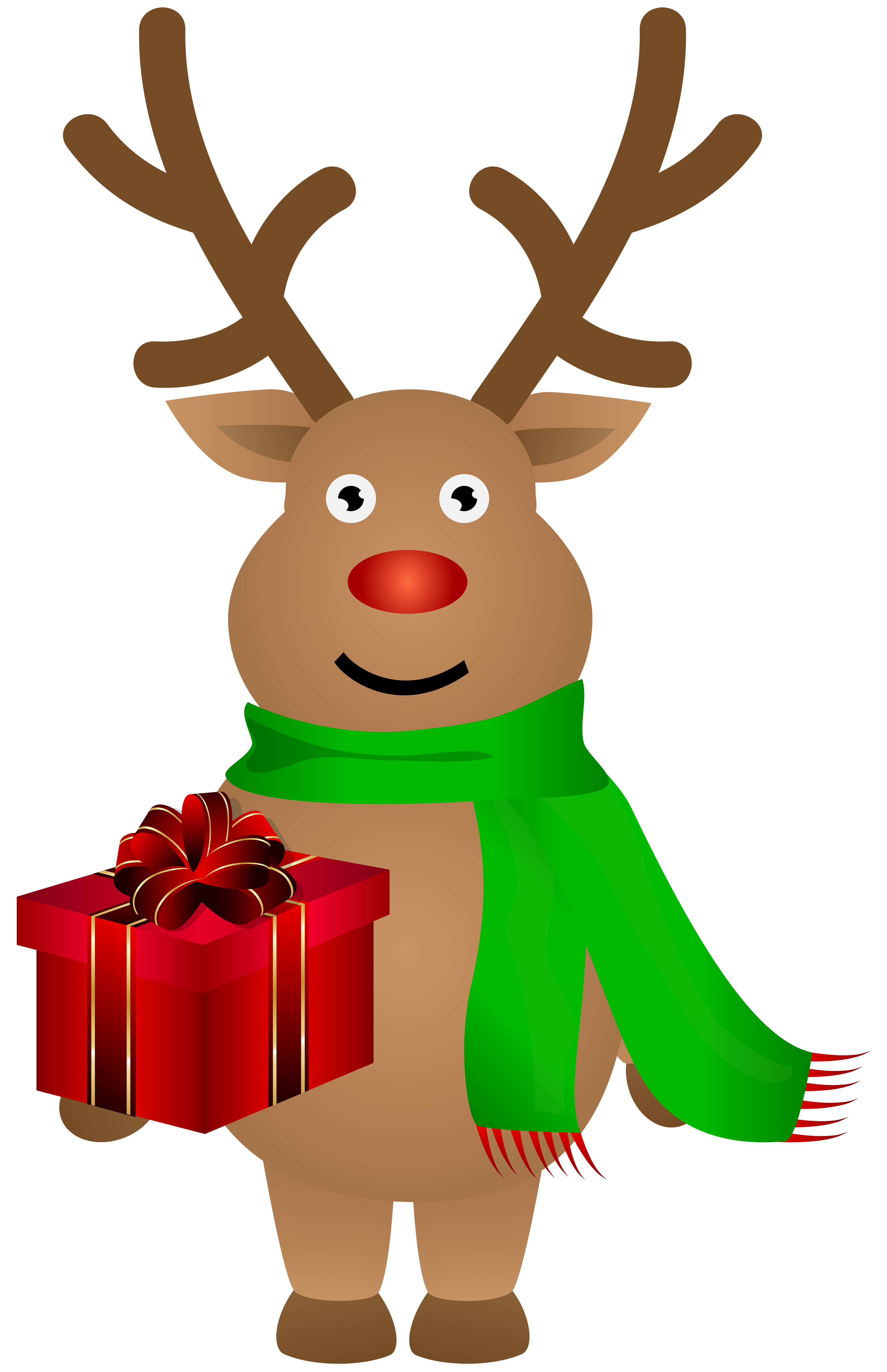 Cute christmas png clip. Clipart reindeer pretty