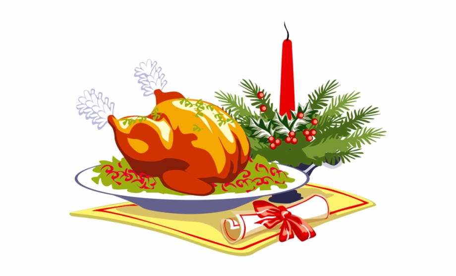 Dinner clipart holiday meal. Leicester christmas free png