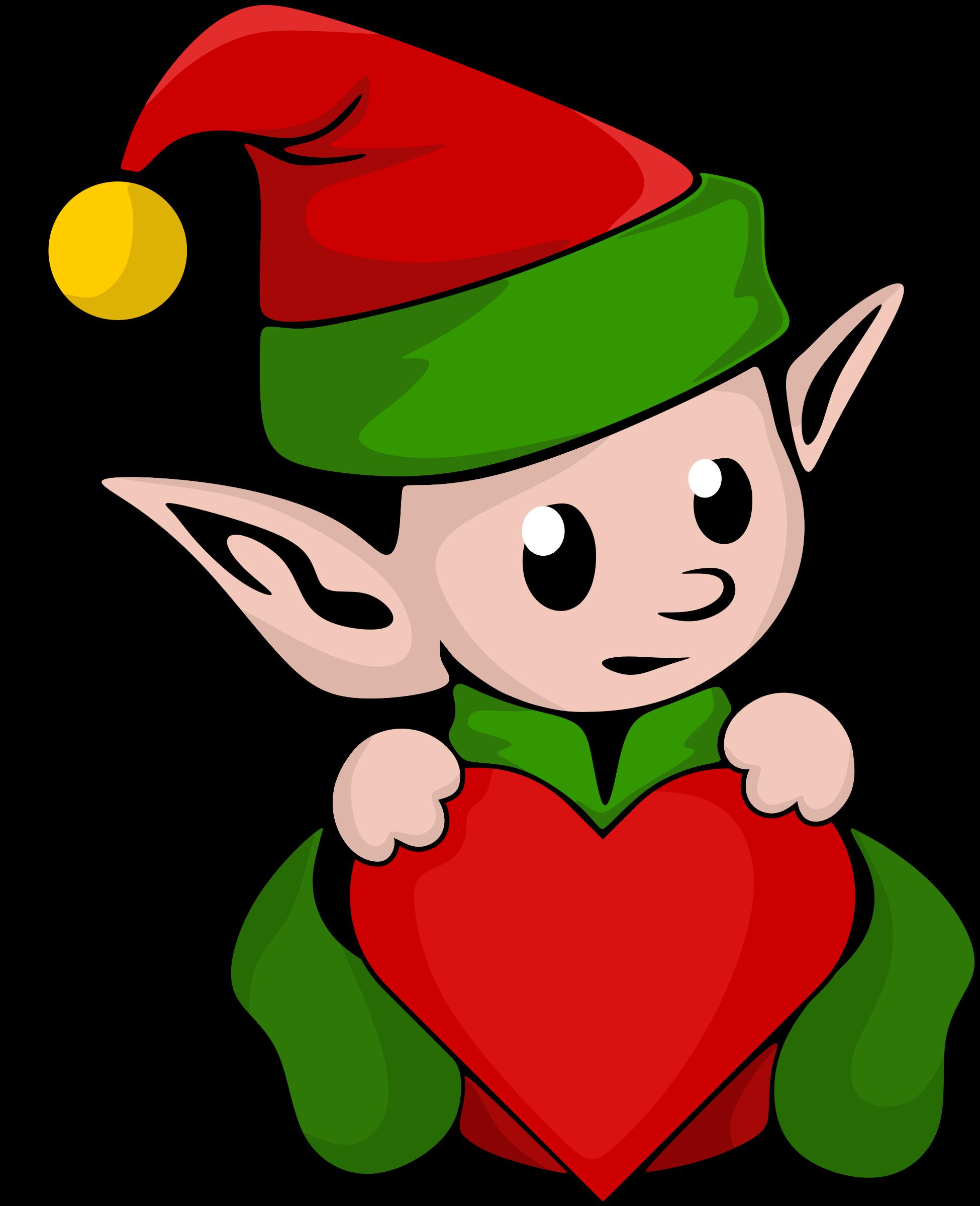 Elf clipart adorable. Cute at getdrawings com