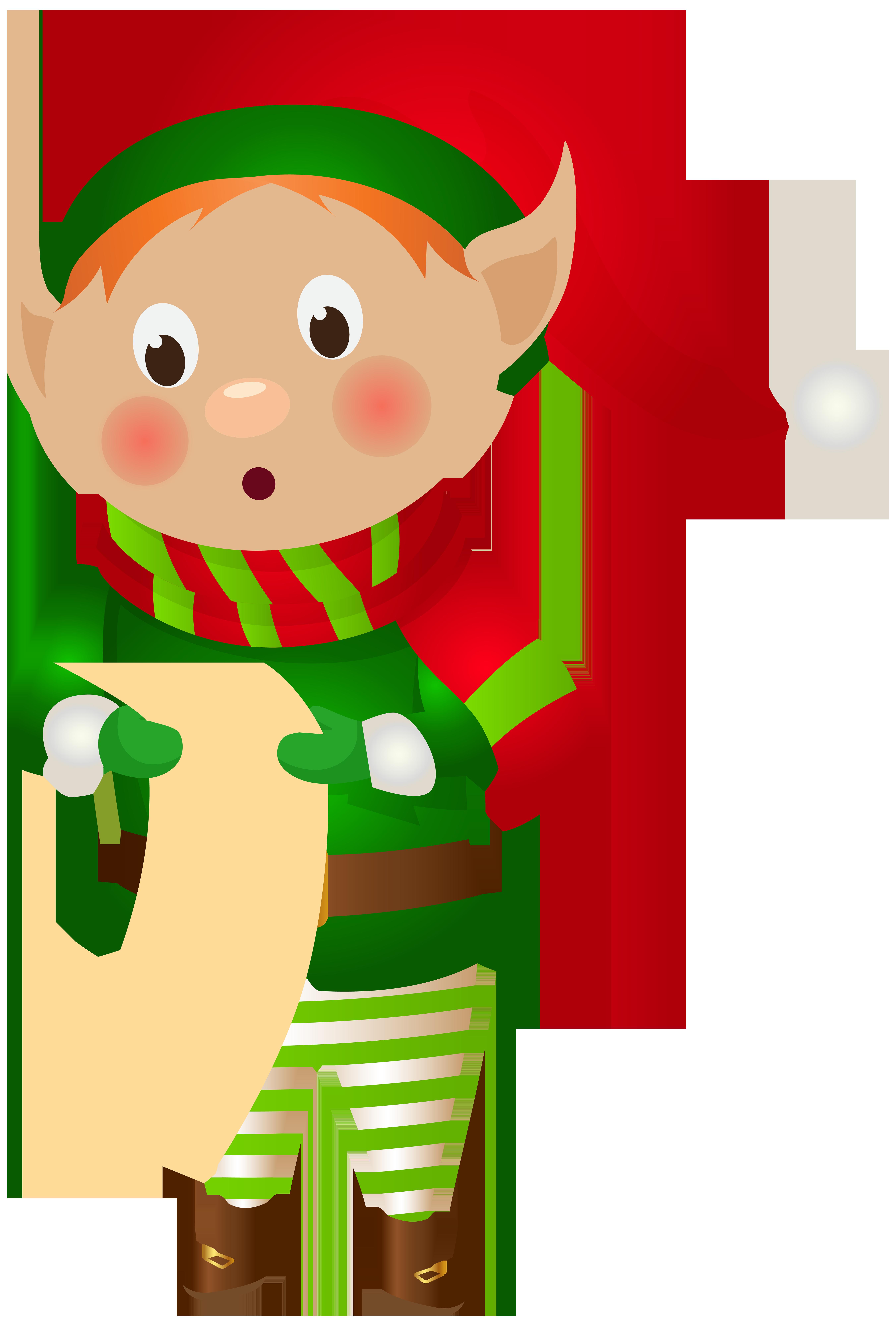Picture clipart elf. Christmas png clip art