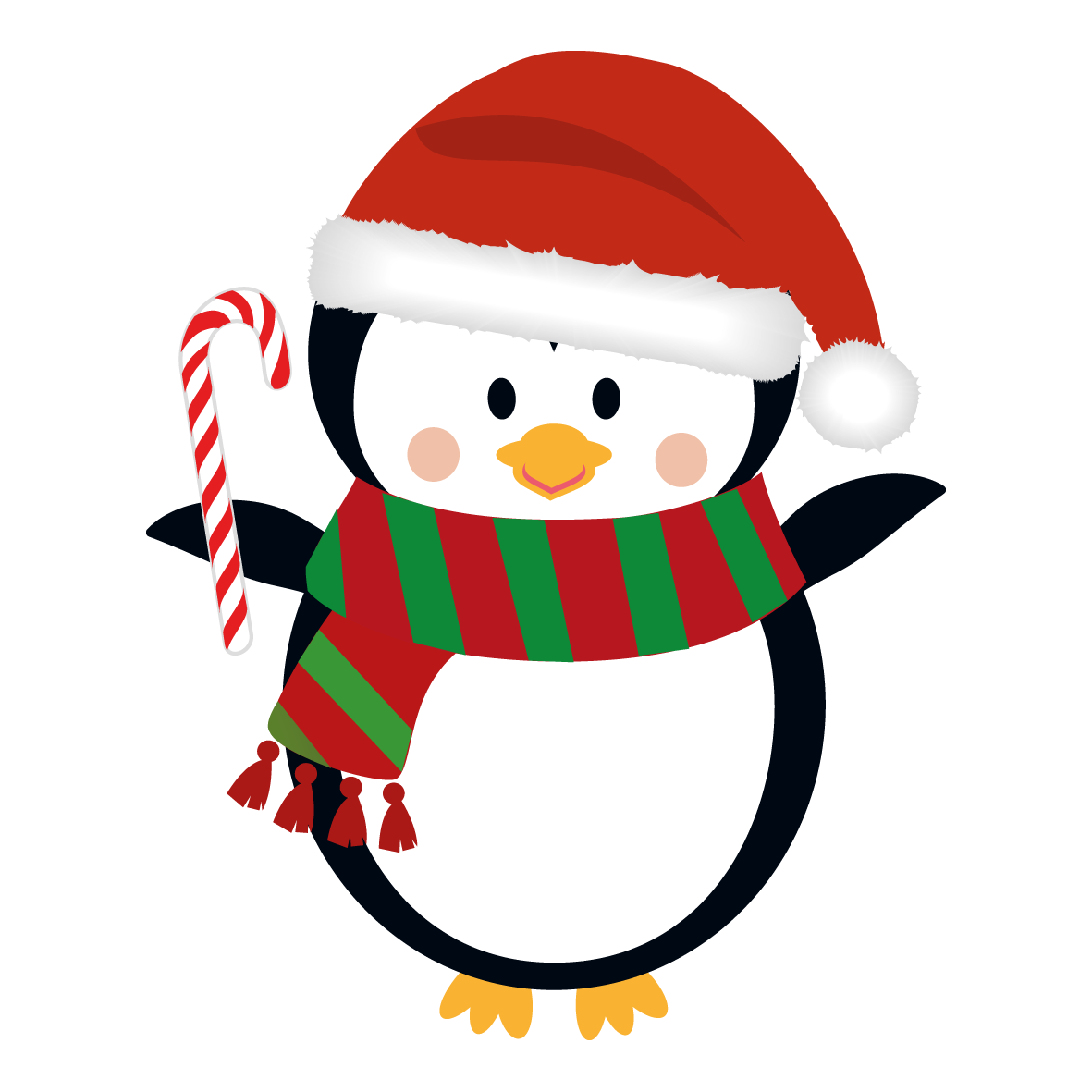 collection of christmas. Santa clipart family