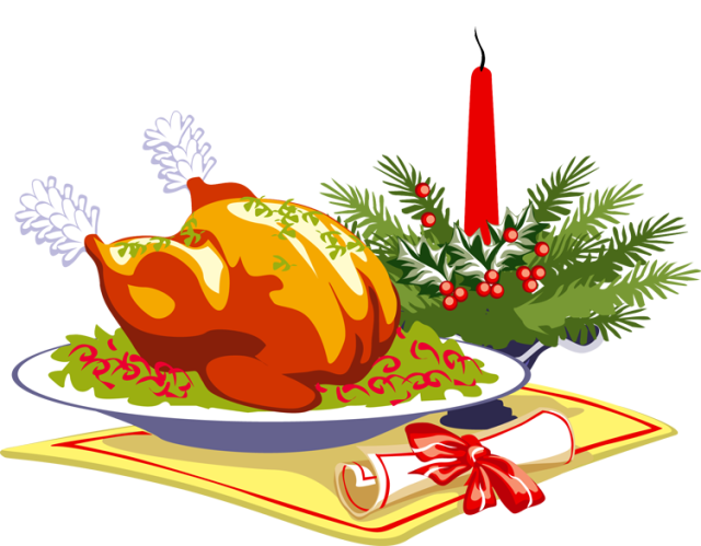 ham clipart christmas lunch #113433417