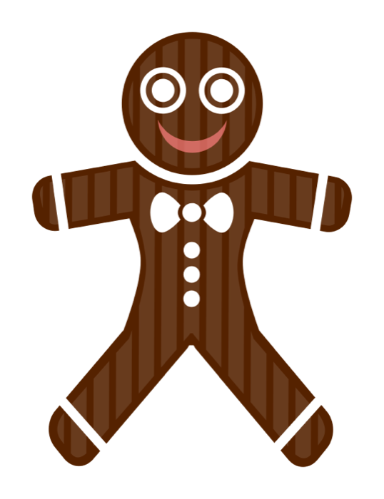Gingerbread clipart gingerbread friend. Christmas food candy canes
