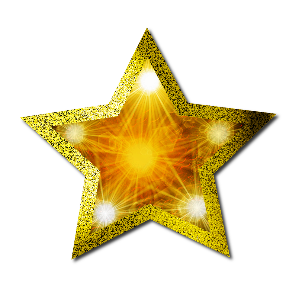 Hollywood clipart golden star. Christmas gold png mart