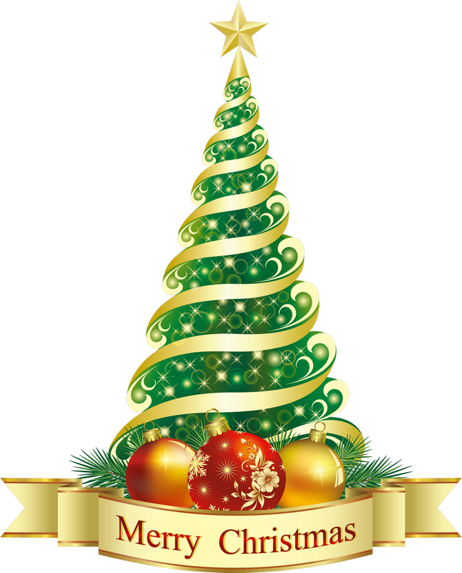 Merry green tree png. Clipart key christmas