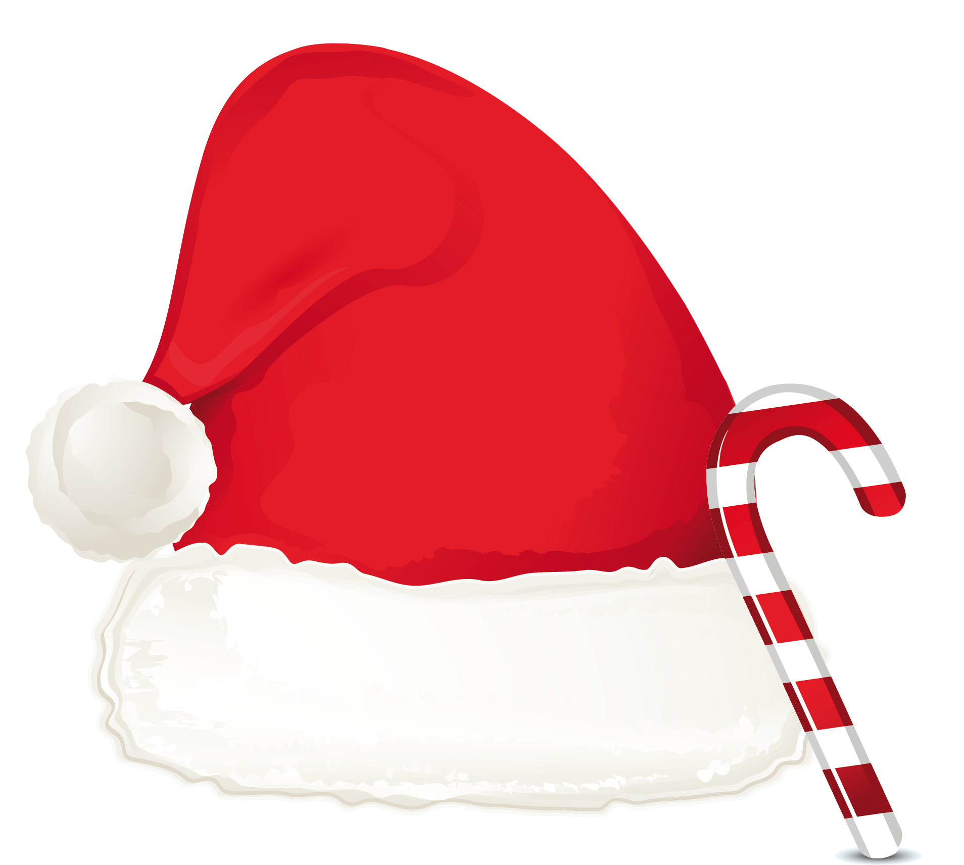 Christmas candy cane ornament. Clipart santa boot