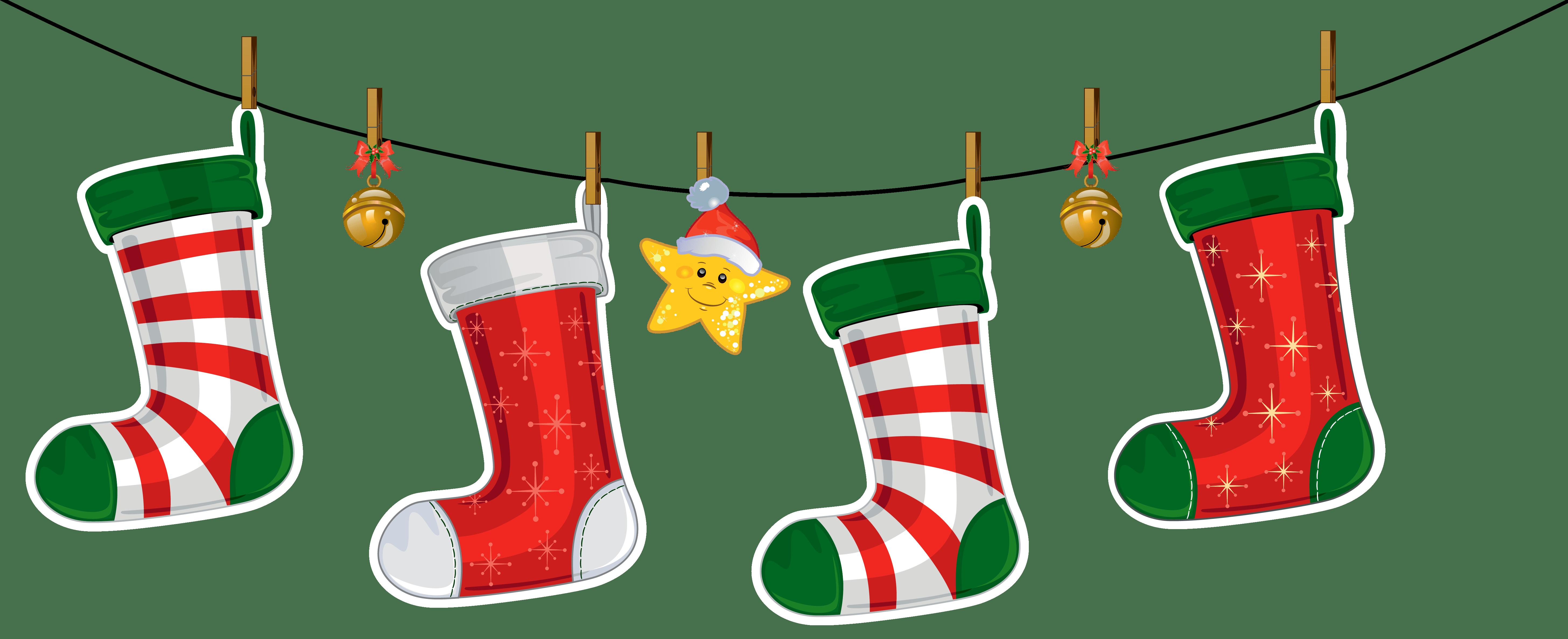 Free christmas stocking at. Elf clipart socks