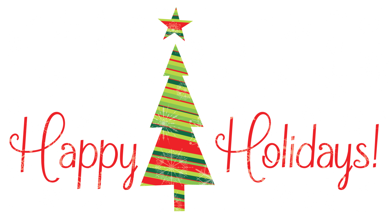 Clipart christmas holiday. Schedule for paper and