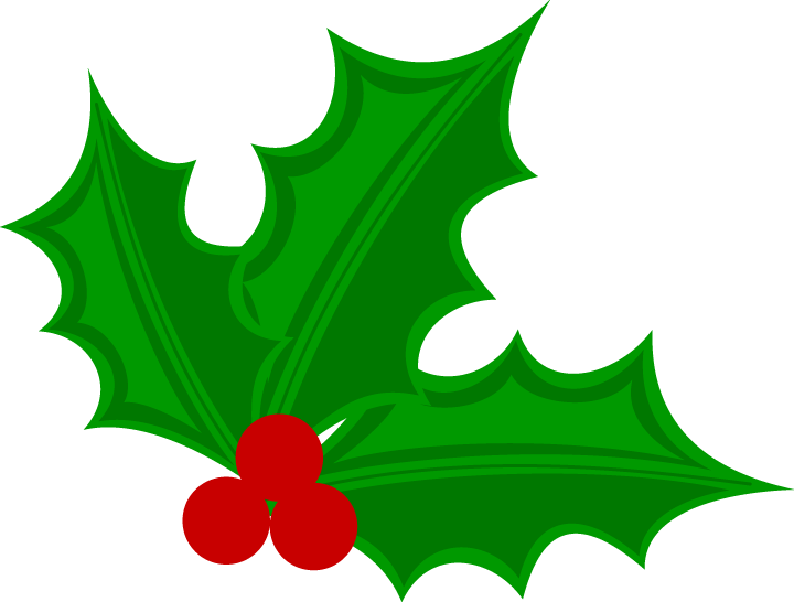 Clipart christmas holly.  collection of transparent