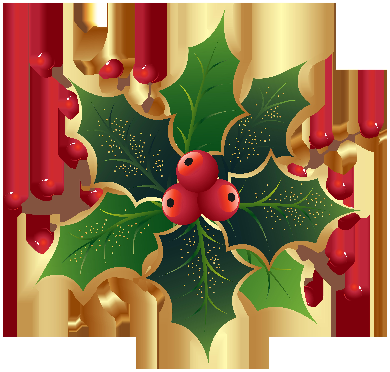 Clipart christmas holly. Mistletoe png clip art