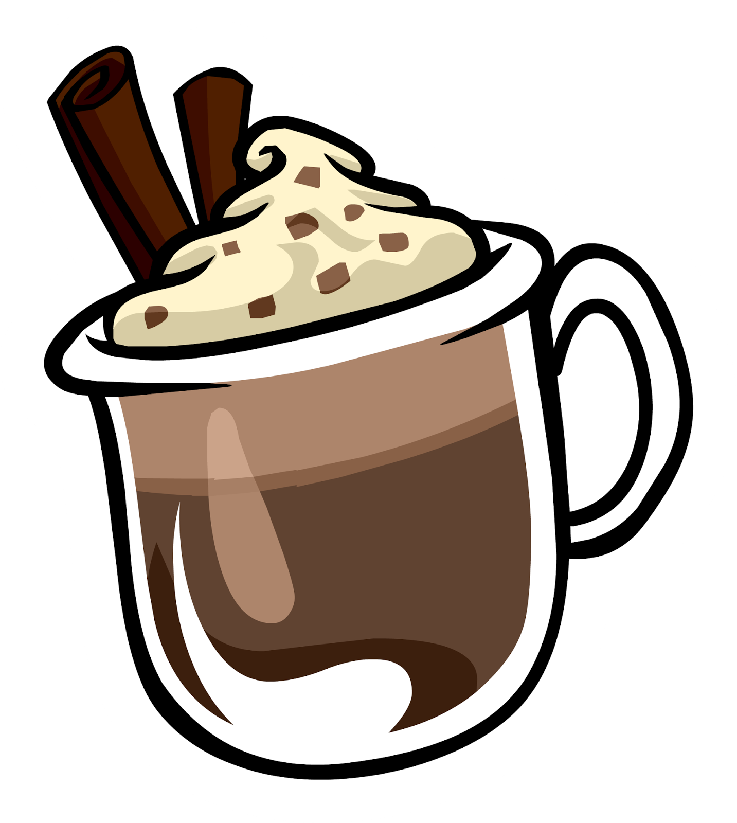 collection of hot. Winter clipart drink