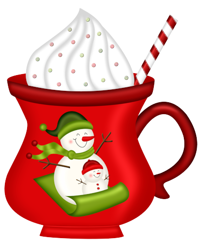 Scrap nadal first petitm. Clipart christmas hot chocolate