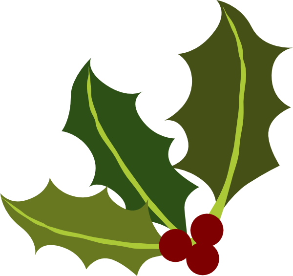 Garland clipart snowflakes. Holly leaf at getdrawings